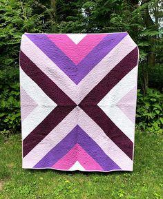 Dizzy Quilts: Rustic in Purple