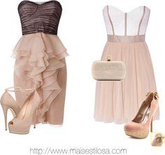 Vestido curto de festa