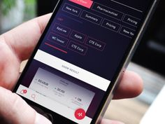 Mobile Design Inspiration — Filter iOS by Gleb Kuznetsov — The Best iPhone. Mobile App Design, Mobile App Ui, Web Design, App Ui Design, Modern Design, Graphic Design, Gui Interface, User Interface Design, Ui Design Inspiration