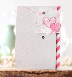 Such a Pretty card by Debby Hughes using Simon Says Stamp Exclusives.  February 2014