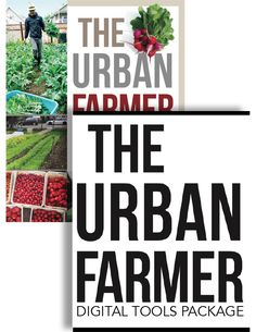 Buy the colourful version of The Urban Farmer directly from the author and immediately receive a digital download package consisting of 9 video tutorials from Curtis' Profitable Urban Farming course. 3 hours of workshop material in total. 4 videos on microgreens, a virtual farm plan titles $80K on a quarter acre, and 4 videos on how to use …