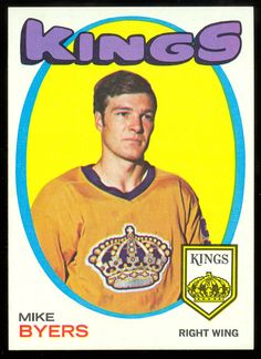 1971 Topps Mike Robitaille PSA 9 for sale online Hockey Girls, Hockey Mom, Ice Hockey, Nhl, La Kings Hockey, Maple Leafs Hockey, Rangers Hockey, We The Kings, Los Angeles Kings