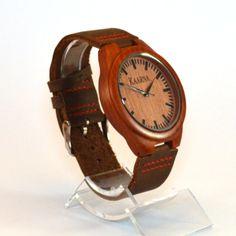 Concord, Tumma Puinen Rannekello - Kaarnakellot Concorde, Wood Watch, Watches, Leather, Accessories, Random, Fashion, Wooden Clock, Moda