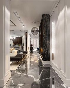 18 Luxury Entryway Decoration Ideas You Have To Know – Welcome to our gallery which displays the unique design of the entrance (porch) in luxury homes to find decorating inspiration ideas. Luxury Homes Interior, Luxury Home Decor, Luxury Apartments, Luxury Condo, Luxury Rooms, Luxury Hotels, Modern House Design, Modern Interior Design, Classic Interior
