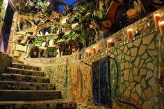 Philadelphia Magic Gardens. #Mosaics #RepurposingforArt