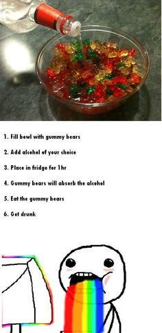 Alcoholic Gummy Bears