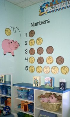 Toy story theme classroom counting