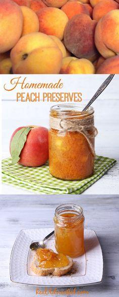 Delicious Homemade Peach Preserves