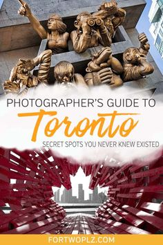 There are many great places in Toronto that would make perfect backdrops for photography. This post present 13 places to visit in Toronto for photo shoots! Vancouver, Toronto Canada, Canada Ontario, Alberta Canada, Quebec, Montreal, Toronto Travel, Toronto Vacation, Vacation Ideas