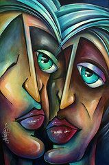 Cubism Art -  Spotlight   by Michael Lang