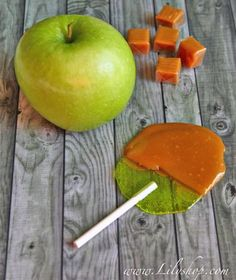 Directions for Caramel Apple Suckers (using Jolly Ranchers hard candy)