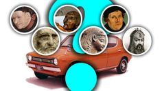 What Would These Famous Pre-Automobile People Drive?