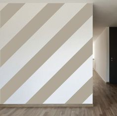 Stripe Wall Decal in Silk Grey at Joss and Main