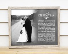 Wedding First Song Lyric Art Keepsake - Unique Gift Idea Printable PDF for Parents, Wedding, Anniversary, or Housewarming