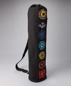 OMSutra Chakra Embroidered Yoga Mat bag design inspiration on Fab. Yoga Mat  Bag 11d71082c2629