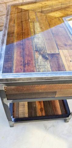 Custom Industrial Desk Per FLP specs Diy Home Furniture, Diy Pallet Furniture, Diy Pallet Projects, Woodworking Furniture, Metal Furniture, Industrial Furniture, Metal Projects, Woodworking Projects, Into The Woods