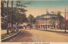 Königsberg i. Pr. Hufen mit Luisentheater, 1920