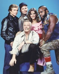 tv show the a - team - Bing images 80s Shows, Old Tv Shows, Movies And Tv Shows, The Ateam, 20th Century Fox, George Peppard, Paddy Kelly, Films Cinema, Vintage Tv
