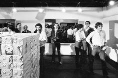 Documentation of Cildo Meireles' O Sermão da Montanha: Fiat Lux, 1979 Black and white C-type print 5 3/8 x 6 3/4 x 1/2 in. (13.6 x 17.3 x 1.3 cm)