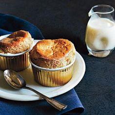 Brown Sugar Soufflés with Crème Anglaise Recipe | CookingLight.com