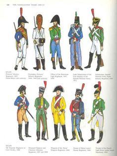 napoleonic spanish uniforms - Google Search
