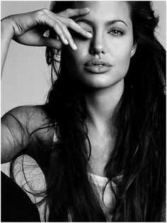 angelina jolie. i don't like her (i love jennifer aniston!) but this picture is just beautiful