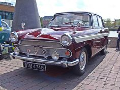 1964 Austin A60 Cambridge... First car I owned.  Like a tank.