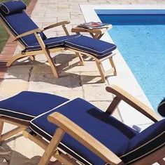 Barbuda Classic Teak Steamer Deck Chair   Westminster Teak Outdoor Furniture