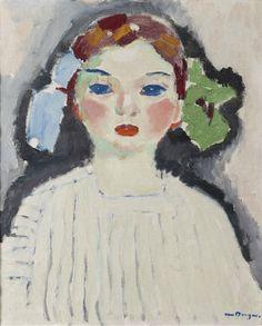 Kees van Dongen, Portret van Dolly, 1909.