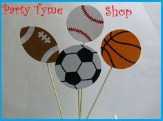 Sports Theme Centerpieces