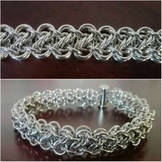 Dolphin twist - new chainmaille weave on M.A.I.L.