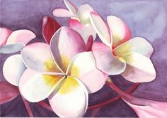 flowers painting watercolor - Buscar con Google