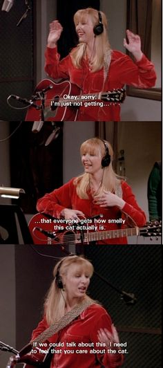 smelly cat is definately my favourite friends moment ever