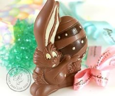 Buy now traditional designed easter eggs basket including easter vegan easter milk free nut free chocolate premium chocolatiers big easter bunny holding a decorated egg negle Gallery