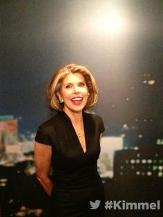 Backstage at #Kimmel. Tune in tonight at 11:35|10:35c on ABC with Christine Baranski #IntoTheWoods