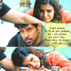 Do not let your partner to face problems alone!! #ChiyaanVikram #Samantha #10endradhukulla