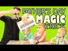 Father's Day Magic Trick - MAGIC MONDAYS!!!