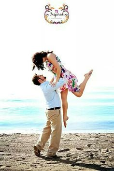 Engagement beach photography