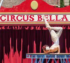 Thrill yourself for FREE at Circus Bella in #Oakland. #CircusBella #99days