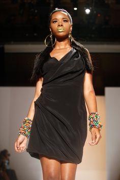Funlayo Deri @afwny 2011 #fashion #africanfashion #pr #luxury #africafashionweek #newyork #ny #uk #nigeria in #ny