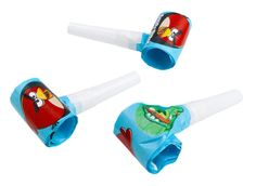 Gwizdki na urodzinowe przyjęcie z Angry Birds!
