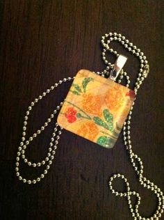 Picture pendant - easier to make than I previously thought