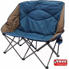 Double Folding Chair Portable Camping Camp Beach Chairs Outdoor Loveseat Picnic | Sporting Goods, Outdoor Sports, Camping & Hiking | eBay!