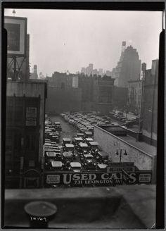 [Used Car lot: 731 Lexington Ave.-E. 58th St., Manhattan] (1935). NYPL Digital Gallery.