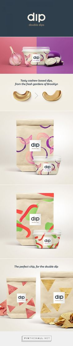 Double Dips by Joe Temple. Source: Daily Package Design Inspiration. Pin curated by #SFields99 #packaging #design