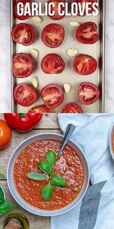 This Homemade roasted tomato soup will be your perfect bowl of comfort on your dinner table. An easy vegan soup recipe that the whole family will enjoy. Soup Appetizers Soup Appetizers dinners carb Soup Appetizers Appetizers with french onion Cheesy Recipes, Easy Healthy Recipes, Mexican Food Recipes, Vegetarian Recipes, Easy Meals, Cooking Recipes, Dinner Recipes, Roasted Tomato Soup, Tomato Soup Recipes