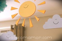 you are my sunshine party ideas - I love the yellow!