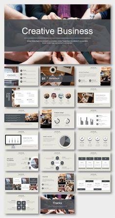 Black & White Business Plan Presentation Template - New Site Pitch Presentation, Business Plan Presentation, Brand Presentation, Presentation Templates, Presentation Folder, Web Design, Slide Design, Design Layouts, Brochure Design