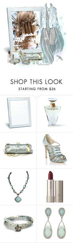 """Pivonka#1464/11"" by lilikatka ❤ liked on Polyvore featuring Tiffany & Co., Guerlain, L.K.Bennett, Ilia, Vivien Frank Designs and Alexis Bittar"