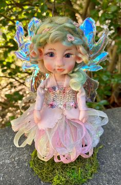 Spring Fairy, Magical Images, Polymer Clay Dolls, Fairy Dolls, Collector Dolls, Ooak Dolls, Pixies, Inspirational Gifts, Fantasy Creatures